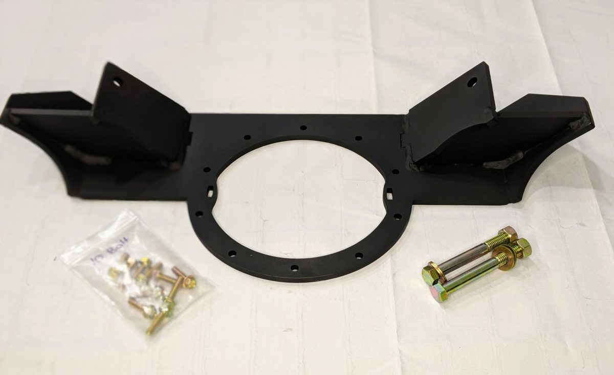 10 bolt cadillac conversion bracket
